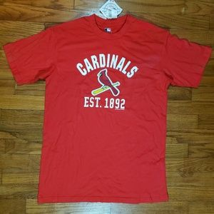 MLB St. Louis Cardinals Authentic Redbird Tee NWT